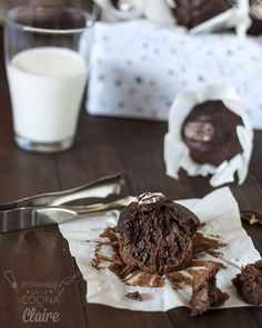 Muffins de plátano  - Destacada
