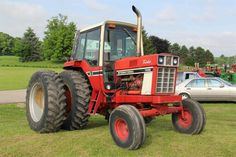 International Tractors, International Harvester, Case Ih Tractors, Red Tractor, Classic Tractor, Black Smoke, Farms, Sailing, Childhood