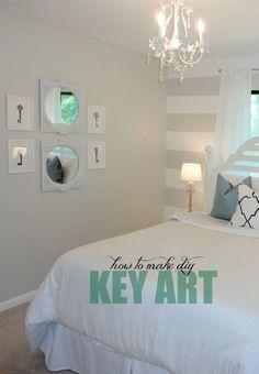 7 Chic DIY Wall Art Ideas   Girlfriends Are Like Shoes - Key Art