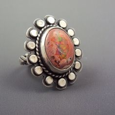 Mexican Opal Ring