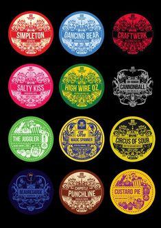 Magic Rock beer selection for 2013 Vintage Packaging, Bottle Packaging, Craft Ale, British Beer, Best Craft Beers, Beer Mats, Beer Coasters, Beer Festival, Ginger Beer