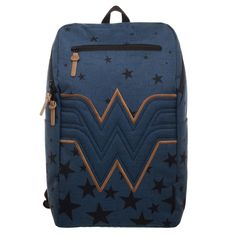 3153a54b01eb Bioworld  DC Comics Wonder Woman (Navy) Backpack