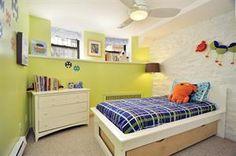 successful basement room