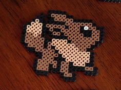 Evoli Pokemon Perler Coaster / Magnet von KyleeCrafts auf Etsy