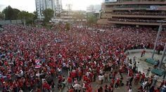 Êxtase máximo: veja fotos da comemoração nas ruas da Costa Rica - 3 (© Reuters)