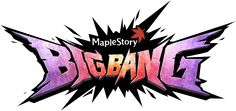 Big Bang Big Bang is a major update in MapleStory, which came about when the Black Wings had resurrected their dark leader, the Black Mage, who had caused destruction to the world and its citizens many years ago before he got sealed away by the Heroes. When the Black Mage had returned to reality, he cast a spell on Maple World, causing Victoria Island to rearrange completely, and all of Maple World's monsters to change level, power and looks. Now, more than ever, the Explorers of MapleSto... Typography Inspiration, Graphic Design Inspiration, Fantasy Logo, Japanese Logo, Game Logo Design, Geometric Logo, Graffiti Lettering, Logo Sticker, Grafik Design