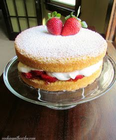Cooking With Carlee: Victorian Sponge Cake
