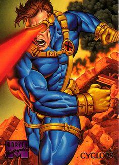 Cyclops - X- Men Mutant - 1995 | Flickr - Photo Sharing!