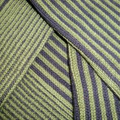 Wear Your Colours - Vertical Stripe  Men's Socks in Green and Navy Cotton from Bassin and Brown www.bassinandbrown.com