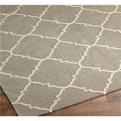 Lattice rug from shades of light