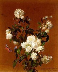 Жан Беннер Натюрморт с цветами 1896 года