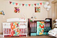 Dormitorio para dos beb�s