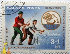 1967 International Fishing Association Stamp/Hungary