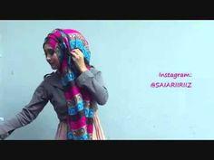 Hijab Tutorial Pashmina Kashmir 1