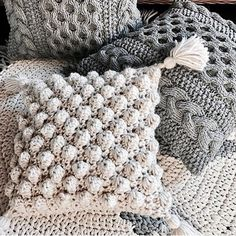 50 Free Crochet Pillow Patterns - Page 11 of 50 - hotcrochet .com # Crocheting Pillow 50 Free Crochet Pillow Patterns - Page 11 of 50 - hotcrochet . Crochet Pillow Cases, Crochet Pillow Patterns Free, Crochet Cushion Cover, Knit Pillow, Crochet Cushions, Free Crochet, Knitting Patterns, Knitted Pillows, Blanket Patterns