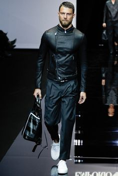 Emporio Armani - Spring 2015 Menswear