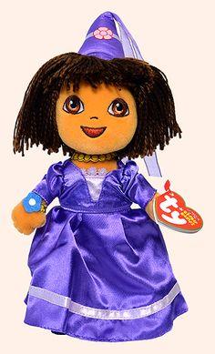 Dora (Fairytale adventures) - Girl - Ty Beanie Babies