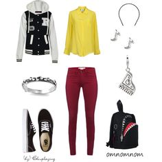 """Soul Eater Closplay"" by closplaying on Polyvore  Yes and I have the soul eater head band that would so work with this."