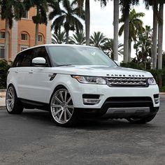 Range Rover Sport on HRE wheels