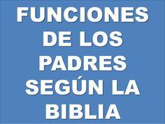 Funciones de los padres según la biblia
