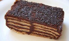 Cake biscuits with coffee flavor. Russian Desserts, Kinds Of Desserts, Russian Recipes, Sweet Recipes, Cake Recipes, Dessert Recipes, Food Cakes, Venezuelan Food, Good Food