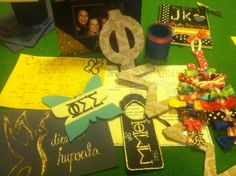 Some of the crafts I've made for my fam and (nonexistent) little!!  http://sororitycraft.tumblr.com/#