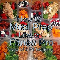 Meal Prep Like a Fitness Pro #diy #healthy