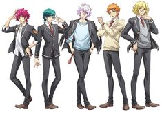 A brand new anime series for the Binan Koukou Chikyuu Bouei-bu franchise is currently in production! #美男高校地球防衛部HAPPYKISS! #美男高校地球防衛部
