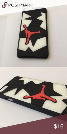 Brand new air Jordan case for iPhone 6/6s Brand new and very limited quantity!! Jordan Accessories Phone Cases