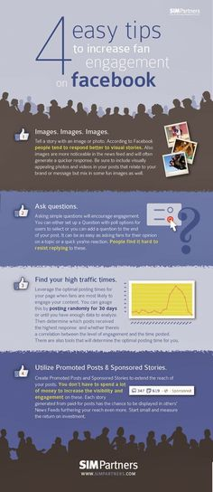 4 Ways to Increase Fan Engagement on #Facebook [INFOGRAPHIC]  #infographic #socialmedia