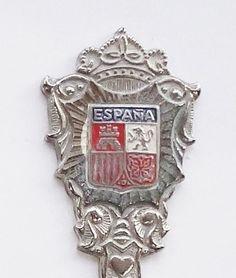 Collector Souvenir Spoon Spain Espana Coat of Arms