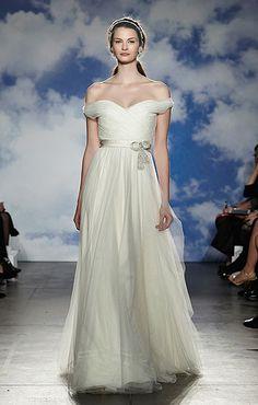 New York Bridal Week Spring 2015: Jenny Packham  #wedding #jennypackham