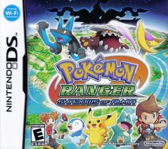 Pokemon Ranger: Shadows of Almia.