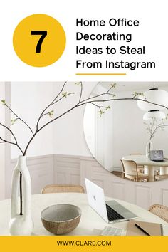 If you're fortunate to be able to work from home, why not create a beautiful home office. Here are our favorite home offices from Instagram to get you inspired!  #paintcolors #paint #paintideas #homeimprovement #homedecor #homedecorideas #diy #painting  #paintideas Office Paint Colors, White Paint Colors, Wall Paint Colors, Paint Colors For Living Room, Best White Paint, White Paints, Office Decor, Home Office, Beige Walls