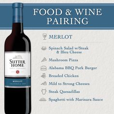 Sutter Home Wine & Food Pairing: Quick Reference, Food And Drinks, Sutter Home Wine & Food Pairing Series: Merlot Wine And Cheese Party, Wine Tasting Party, Wine Cheese, Cabernet Sauvignon, Burger Bread, Wine Paring, Sutter Home, Merlot Wine, Red Wine