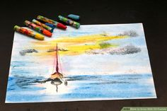 How to Draw With Oil Pastels: 8 Steps (with Pictures) - wikiHow