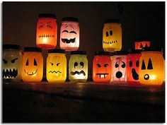 These creative DIY Halloween Crafts are the perfect way to decorate your home this holiday season! Make one of these fun homemade Halloween DIYs today! Halloween Jars, Halloween Crafts For Kids, Holidays Halloween, Halloween Decorations, Halloween Ideas, Halloween 2020, Halloween Pumpkins, Homemade Halloween, Spooky Halloween