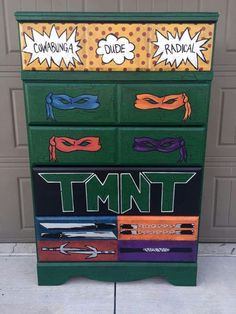 ♡ top drawers made into canvas