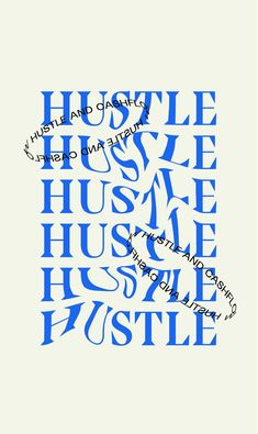 Creative Brand Typography Layout by Here and Now Creative Co | Hustle