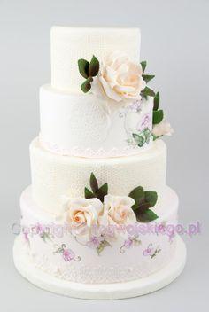 Wedding+Cake+/+Tort+Weselny+Tort+na+Ślub
