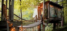 Want to experience a few nights in nature without sacrificing comfort? Ditch the tent and opt for alternative accommodations that offer some amenities of home—beds, drinking water and bathrooms with an outdoorsy twist.  All within an hour and half of Atlanta, these dwellings make a weekend ge