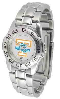 Tennessee Lady Volunteers Ladies Sport Steel Watch