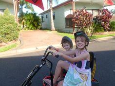 Have pedal kart...will travel #cairnscoconut #greatbarrierreef Caravaning Cairns