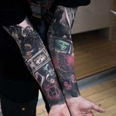 "8,990 Likes, 86 Comments - Art TattooLaser (@niki23gtr) on Instagram: ""Nerd project  @johanlm  #bettercamerasforthepeople #bishoprotary #inkeeze #nocturnalink…"""