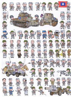 Альфонс Canovas Военные Miniatures: совместные работы ЧЖАН XING