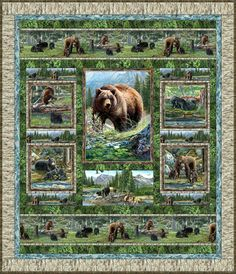 Bear Meadow Free Quilt Pattern