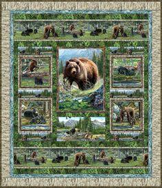 Bear Meadow Free Quilt Pattern