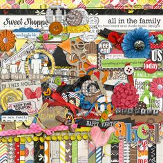 All In The Family by Traci Reed and Studio Basic