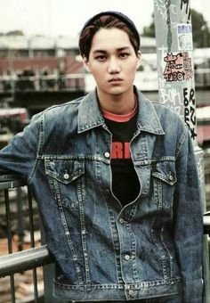 Kai - EXO Photobook 'DIE JUNGS'.