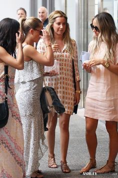 Ashley Tisdale in Antik Batik's Iza Dress